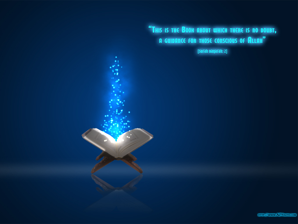 Book of No Doubt - Quran - Islamic Wallpapers - A2Youth.com